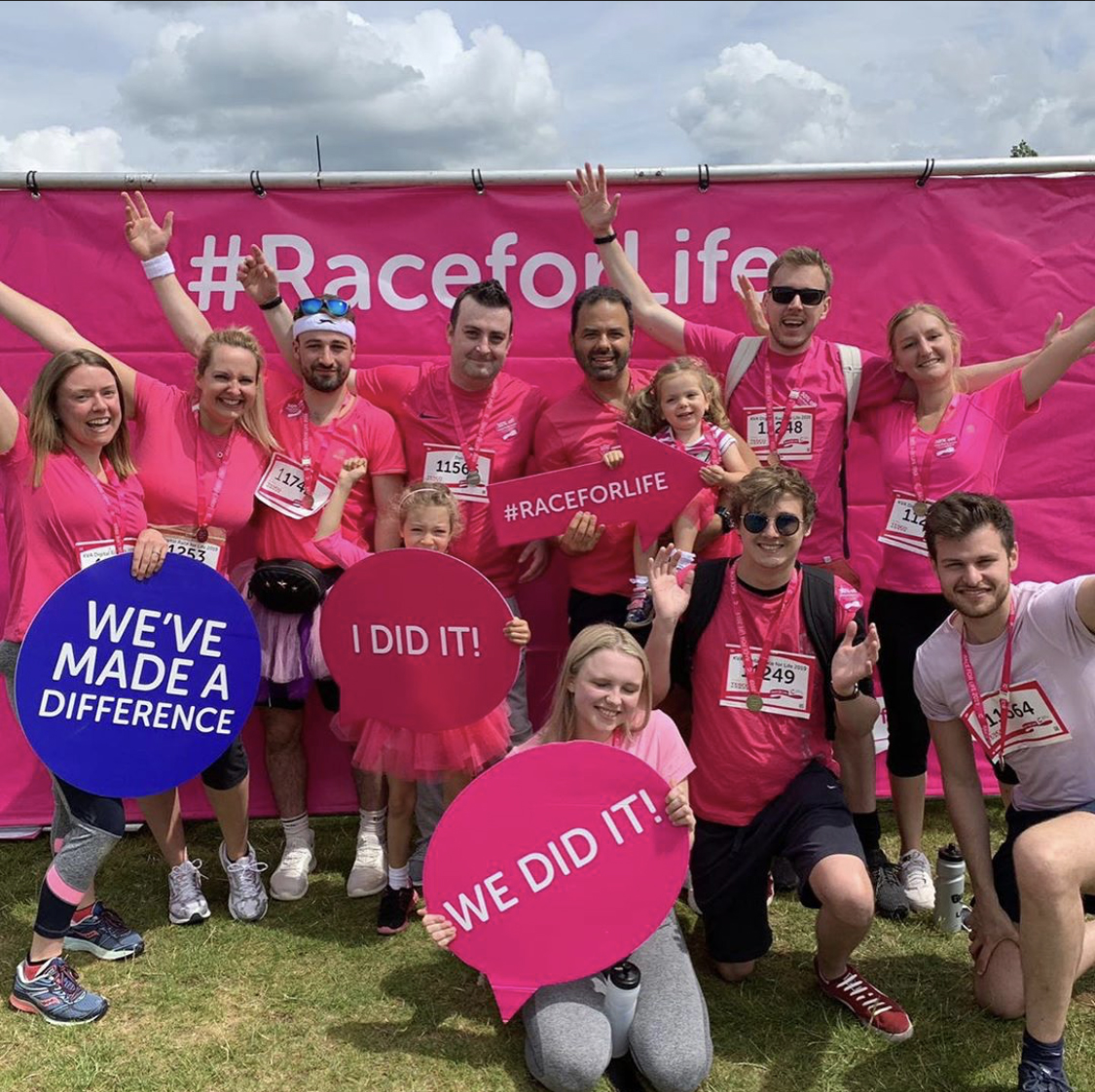 KVA race for life charity